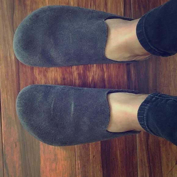 62831646940 Birkenstock Shoes - RARE! Birkenstock Amsterdam grey nubuck leather